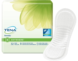 Tena Anywhere Ultra Thin Long Pads