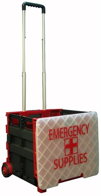 Lid For Large Folding Rolling Crate Portable Folding Cart